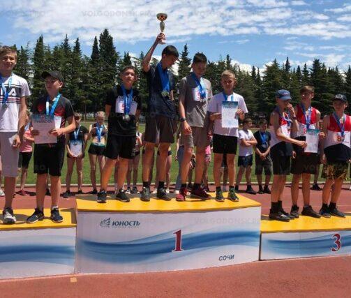 Юные легкоатлеты отлично выступили на всероссийских соревнованиях по легкоатлетическому четырехборью «Шиповка юных»