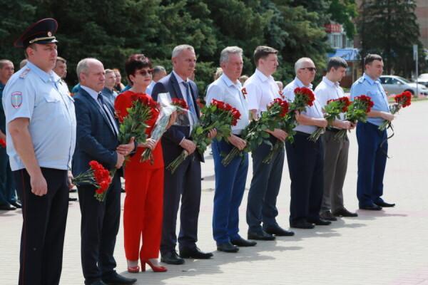 Сегодня Волгодонск вспоминает день начала войны