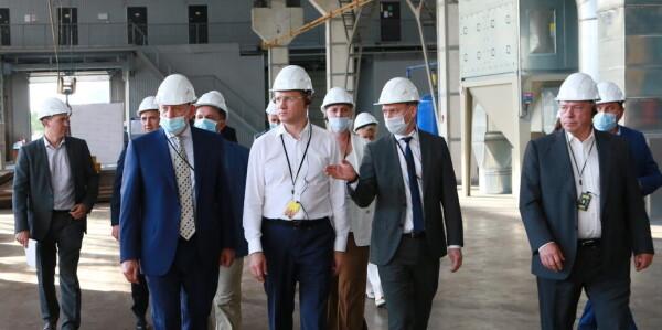 Вице-премьер Александр Новак отметил вклад волгодонских заводов в лидерство региона по ветрогенерации