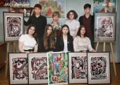 Выпускники МБУ ДО Детская художественная школа 2020-2021 учебного года получили свидетельства об окончании школы