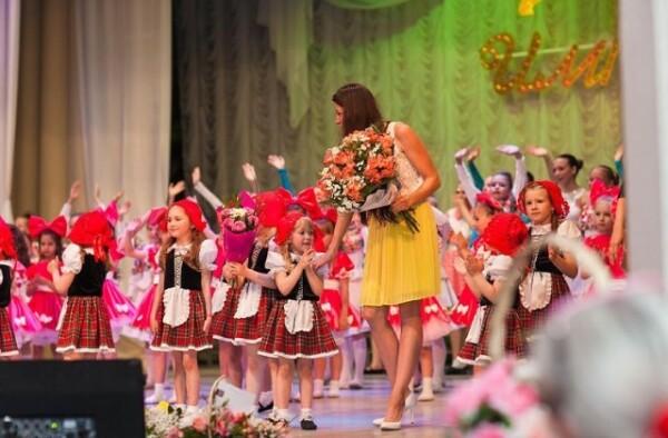 Театра танца «Империя» выступил в ДК «Октябрь» с отчетным концертом