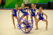 Волгодонские гимнастки триумфально выступили на всероссийских соревнованиях в Нальчике