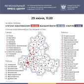 Число инфицированных COVID-19 на Дону выросло на 221