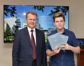 Ростовская АЭС: волгодонских школьников наградили за победу в международных конкурсах
