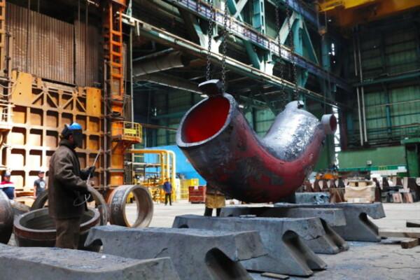 На Атоммаше изготовили комплект колен ГЦТ для Тяньваньской АЭС