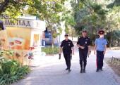 Оперативно-профилактическое мероприятие «Улица»: казаки помогают сотрудникам полиции обеспечивать правопорядок в Волгодонске