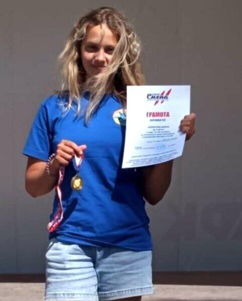 Волгодонская спортсменка Диана Алексеева победила в дисциплине экстрим-слалом в Санкт-Петербурге