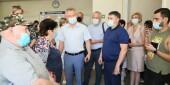 Вакцинация от коронавируса: Виктор Мельников проверил работу прививочных пунктов