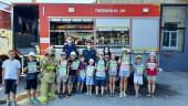 Для ребят из пришкольных лагерей организовали экскурсии в пожарно-спасательные части Волгодонского гарнизона