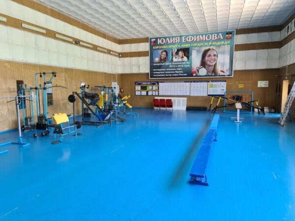 Сделаем вместе! Спортивная общественность Волгодонска предложила сделать выборочный капитальный ремонт в тренажерном зале СШОР№ 2
