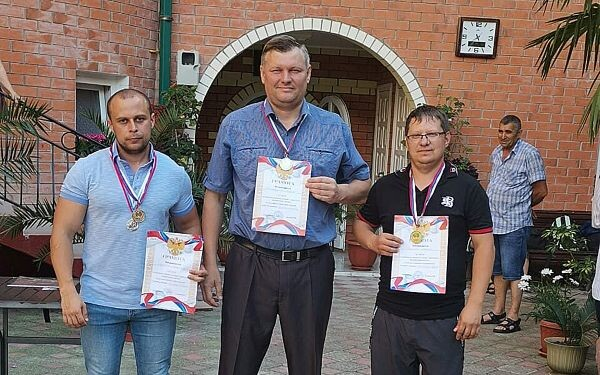 Цимлянские шашисты чемпионы Юга России