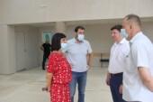 Депутаты посмотрели ход выполнения работ в ДК «Октябрь»