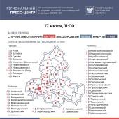 Ещё 332 лабораторно подтверждённых случая COVID-19 зарегистрировано на Дону