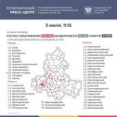 Число подтверждённых инфицированных коронавирусом увеличилось в Ростовской области на 262