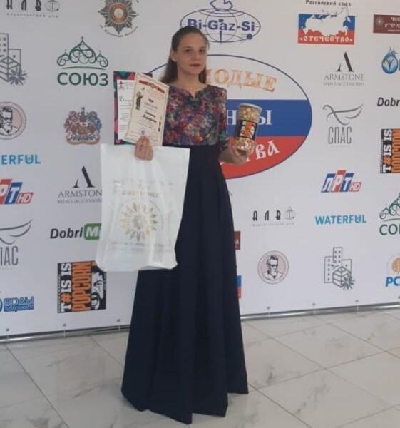 Солистка Дворца культуры «Октябрь» достойно представила Волгодонск на международном фестивале в Москве