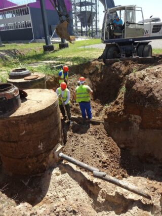На «ДонБиоТехе» возобновлены строительно-монтажные работы