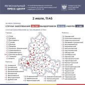 Число подтверждённых случаев COVID-19 увеличилось в Ростовской области на 247