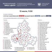 Число инфицированных COVID-19 на Дону увеличилось на 321