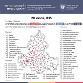Число подтверждённых инфицированных коронавирусом увеличилось в Ростовской области на 346