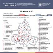 Число подтверждённых случаев COVID-19 увеличилось в Ростовской области на 403