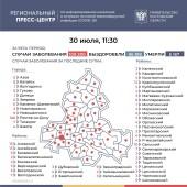 Число подтверждённых инфицированных коронавирусом увеличилось в Ростовской области на 418