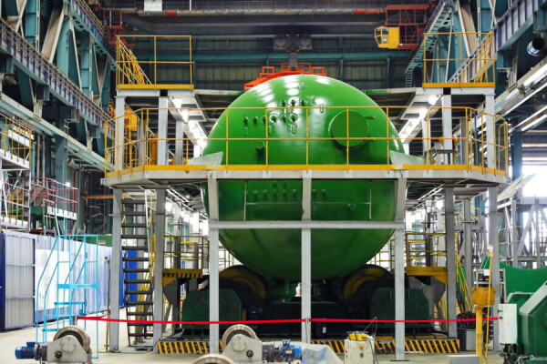 Атоммаш изготовил первый парогенератор для второго энергоблока АЭС «Аккую»