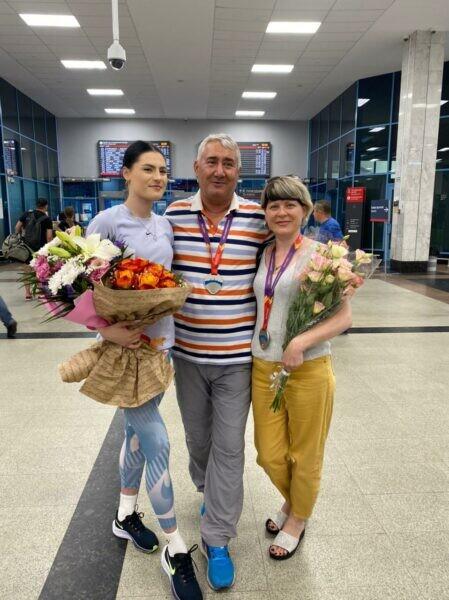 Вице-чемпионка Европы U-20 волгодончанка Валерия Воловликова вернулась на донскую землю