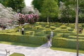 Сухой фонтан, мини-рампа, аптекарский огород: в Цимлянском районе благоустраивают «Приморский парк»