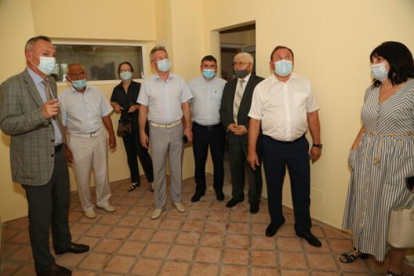 Близится к завершению ремонт в Детской городской больницы