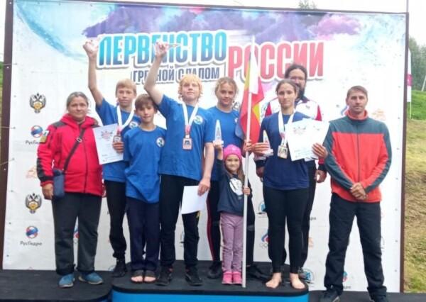Волгодонские спортсмены стали победителями и призерами всероссийских соревнований по гребному слалому
