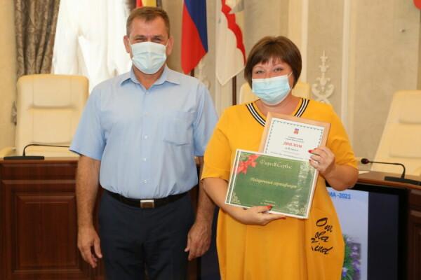 Вадим Кулеша наградил победителей конкурсов «Радуга цветов» и «Лучший двор»