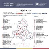 Число подтверждённых инфицированных коронавирусом увеличилось в Ростовской области на 481