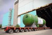 В Волгодонске стартовала отгрузка парогенераторов для блока №2 АЭС «Аккую»