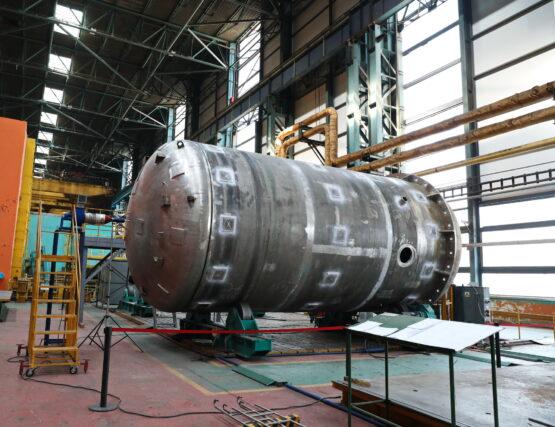 На Атоммаше повысили эффективность изготовления СПЗАЗ для первого энергоблока АЭС «Аккую» (Турция)