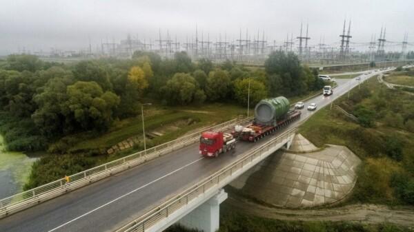 На строительную площадку Курской АЭС-2 доставлен корпус реактора ВВЭР-ТОИ для первого энергоблока