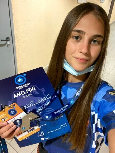 Волгодонская спортсменка Диана Мельниченко выиграла мировое первенство по грэпплингу
