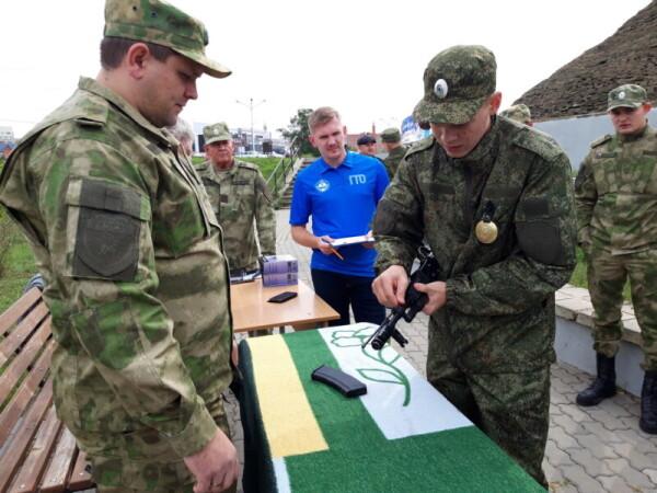 В Волгодонске прошли военно-полевые сборы казаков