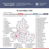 Число подтверждённых инфицированных коронавирусом увеличилось в Ростовской области на 472