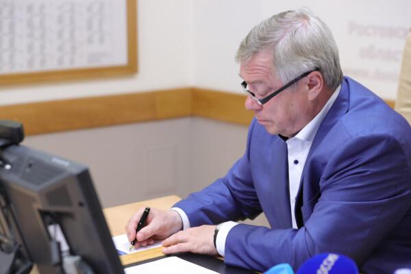 Василий Голубев отменил многие антиковидные ограничения в Ростовской области