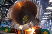 На Атоммаше выполнен ключевой этап изготовления днища атомного реактора для блока №3 АЭС «Аккую»