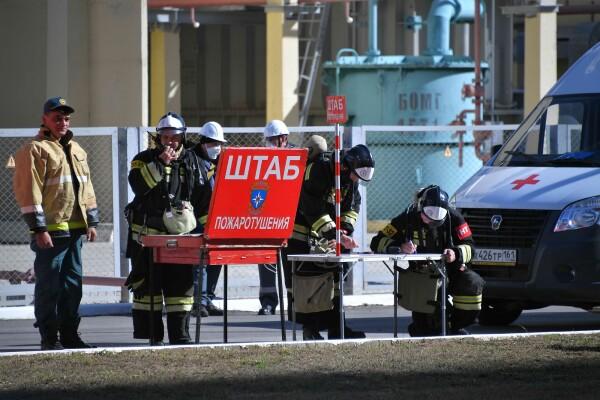 На Ростовской АЭС отработали взаимодействие в ходе плановой противоаварийной тренировки