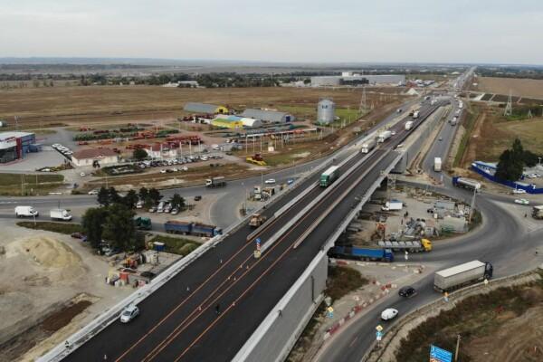 Над сальским кольцом трассы М-4 «Дон» открыто движение по новому путепроводу