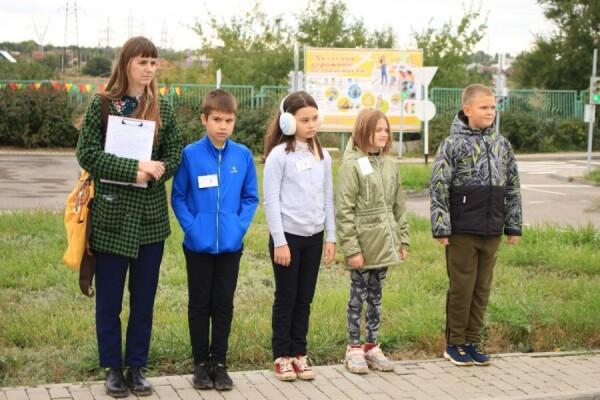 В СЮТ Волгодонска прошли городские соревнования среди школьников «Юный велосипедист»