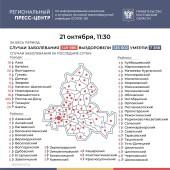 Число подтверждённых инфицированных коронавирусом увеличилось в Ростовской области на 583